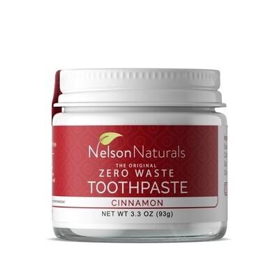 Nelson Naturals - CINNAMON ZERO-WASTE TOOTHPASTE 60ml
