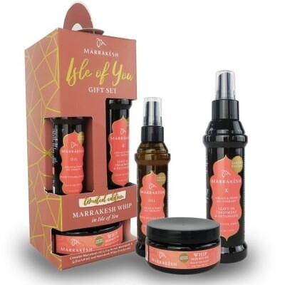 Marrakesh - Isle Of You Gift Set - Oil- Detangler- Whip Butter