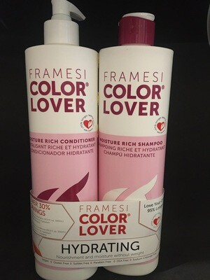 Framesi - Colour Lover Moisture Rich - Shampoo,Conditioner Duo