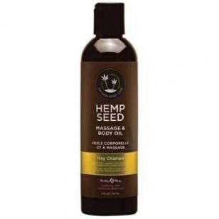 Earthly Body - Hemp Seed Massage Oil 257ml