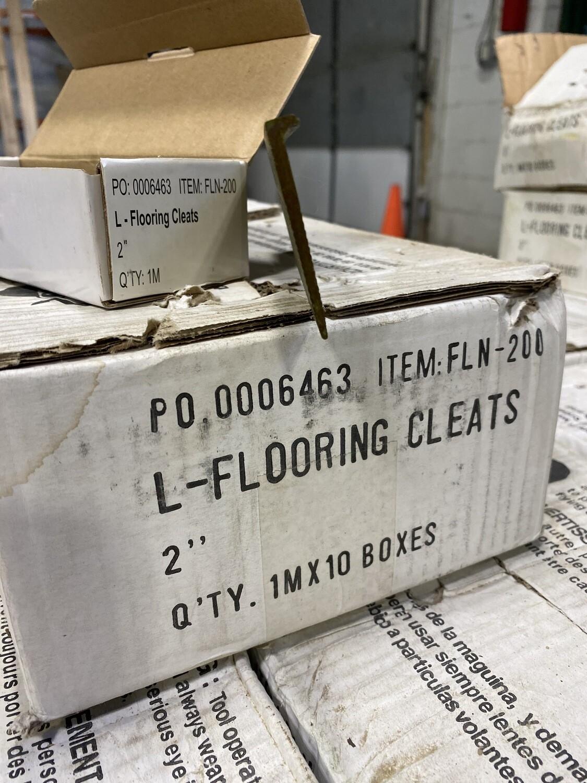 """2"""" L – Flooring Cleats"""
