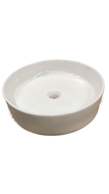 Kraus White Round Ceramic Sink – KCV-140