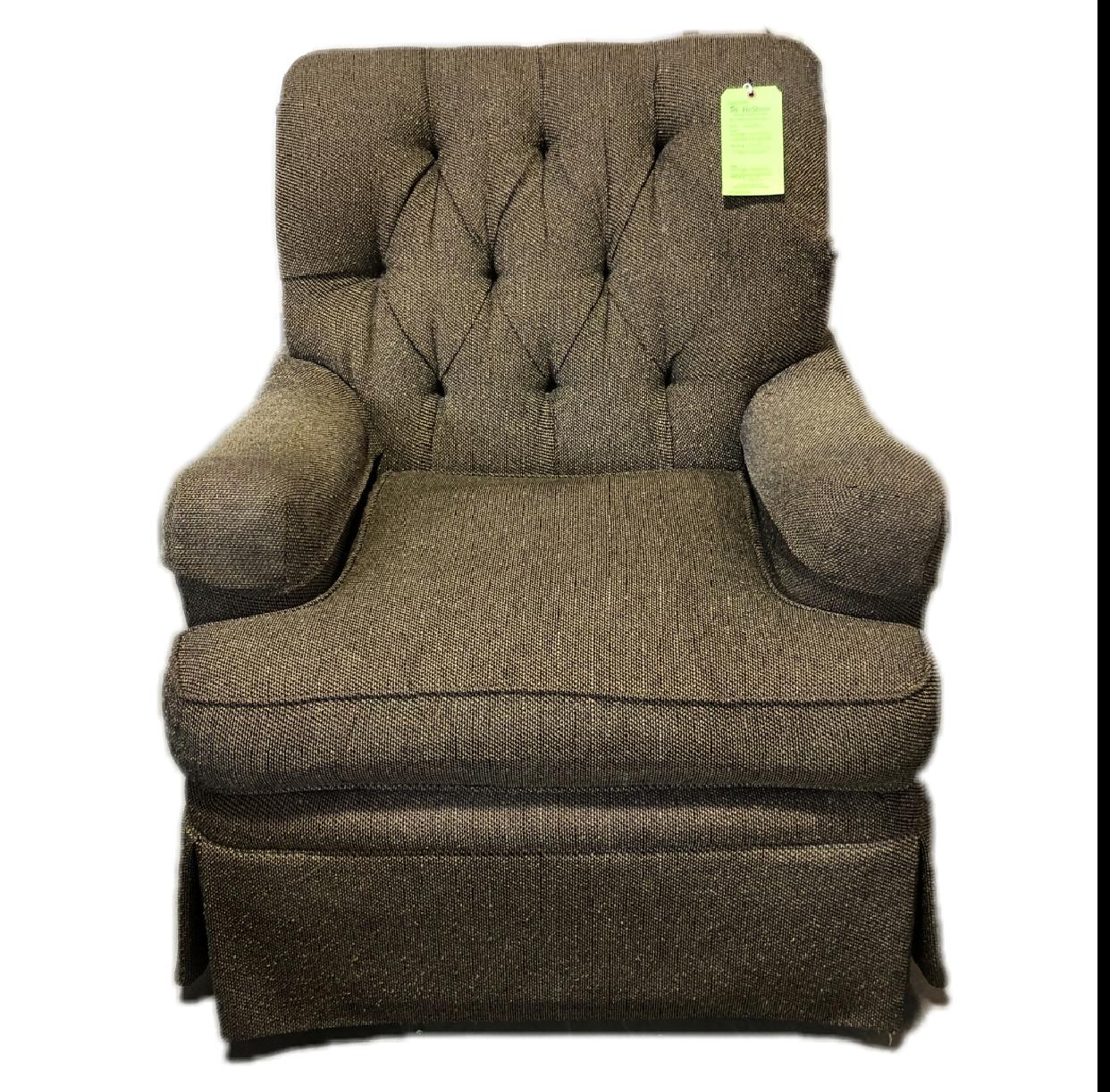 Vintage Henredon Upholstered Armchair