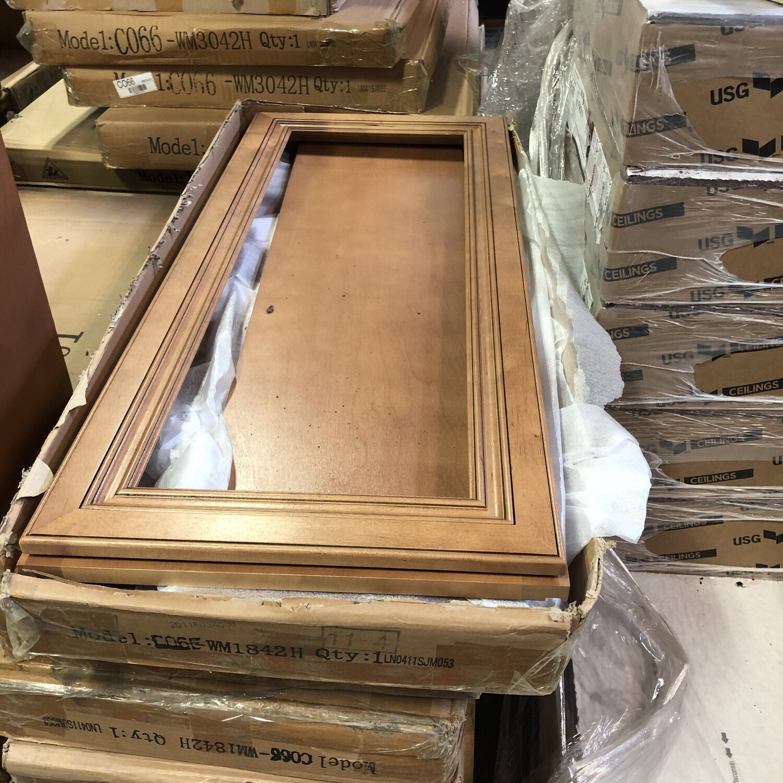 J&K upper cabinet 18x42