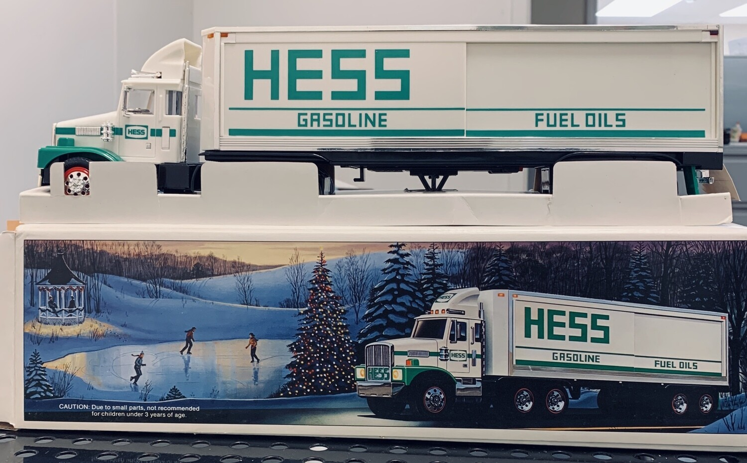 HESS Gasoline Toy Truck Bank