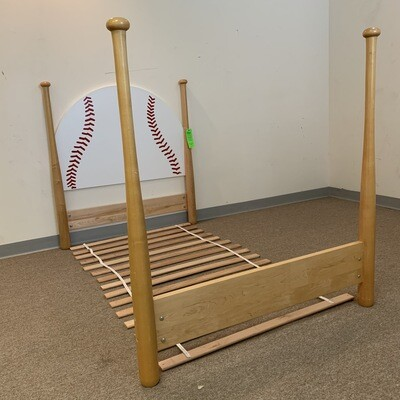 Baseball Bed Frame Twin SIze