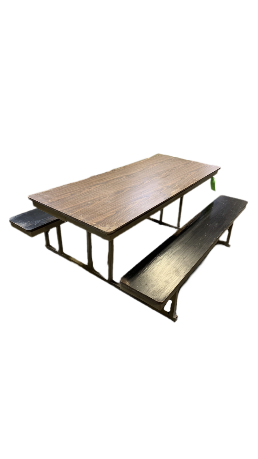 Lunchroom Picnic Table
