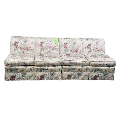 Floral Couch 2 Piece