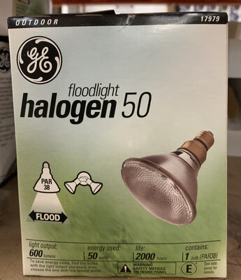 GE Halogen Floodlight