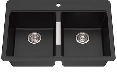 Kraus KGD-433B Kitchen Sink