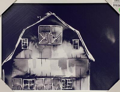 Madison Barn Framed Art