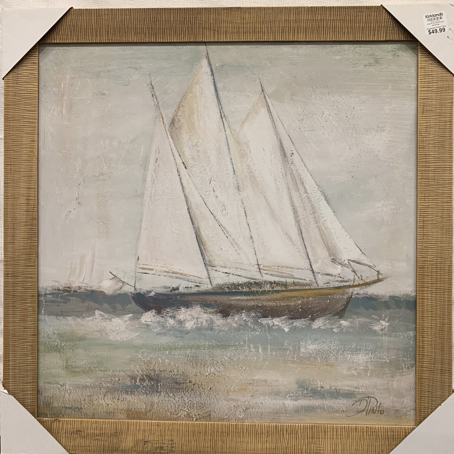 Cape Cod Sailboat Framed Art Print