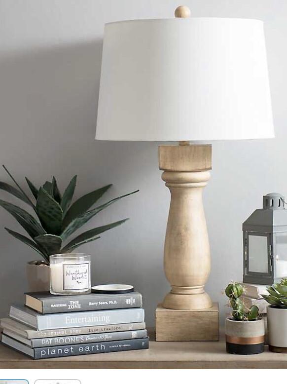 Light Natural Turner Table Lamp