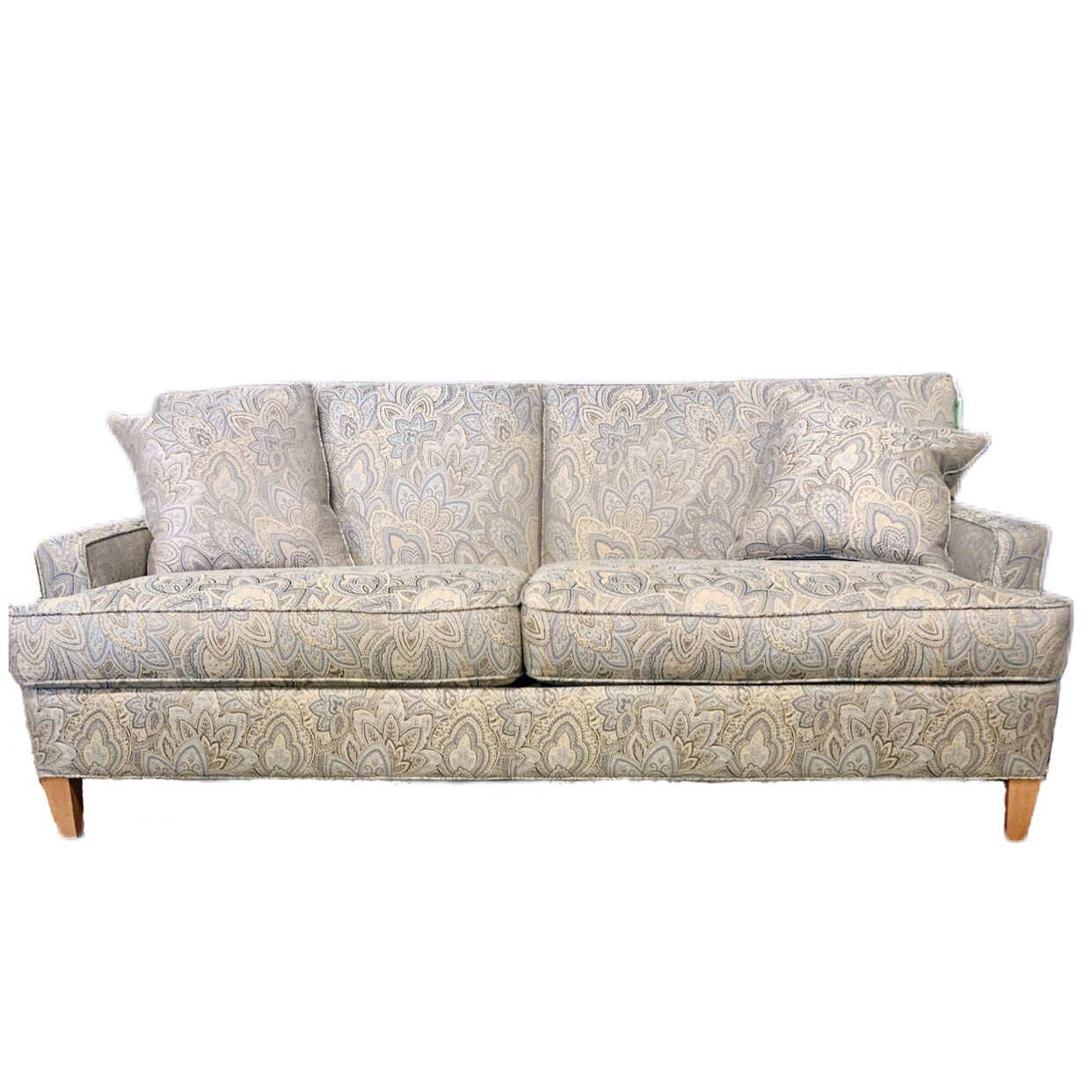 Ethan Allen Floral Custom  Couch