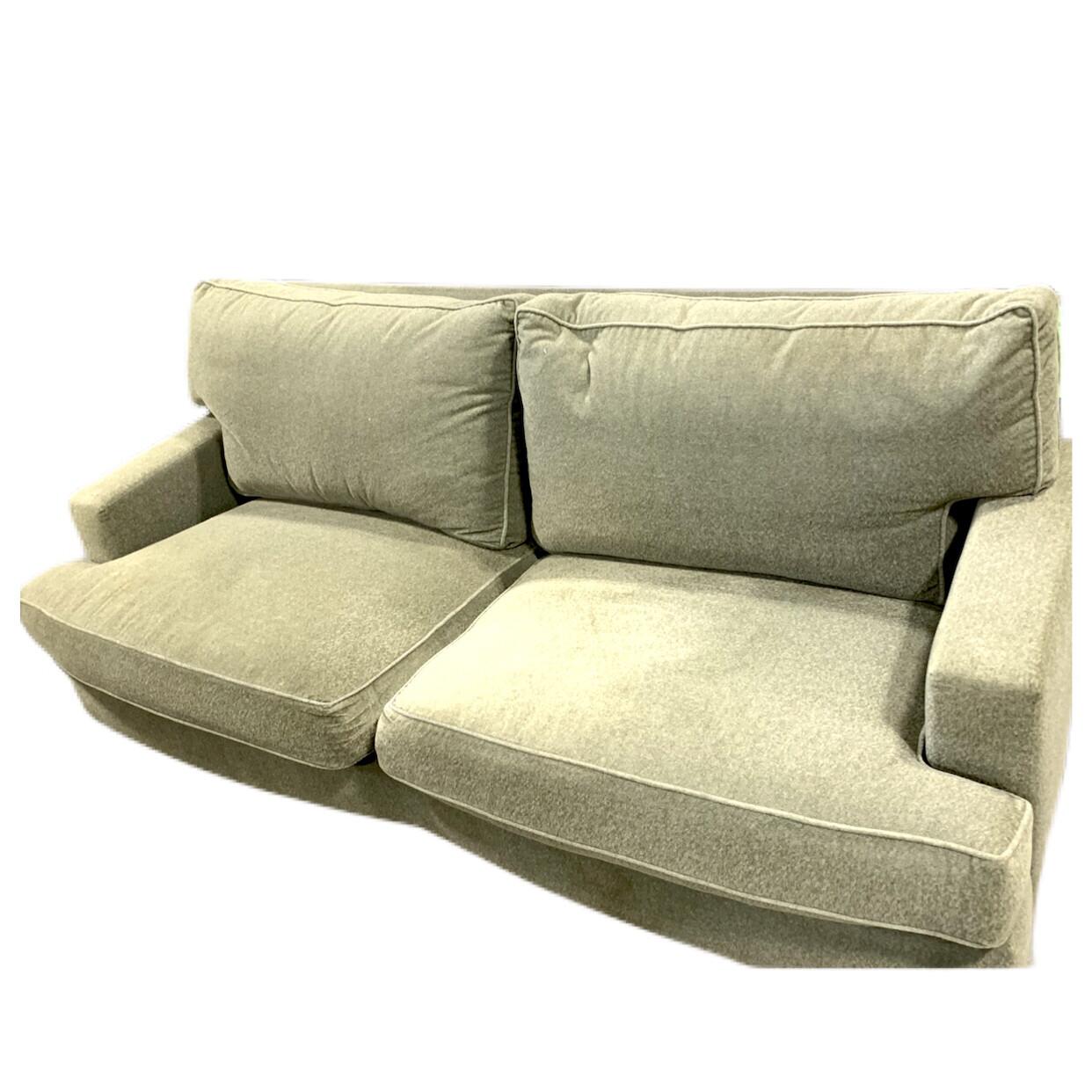 Olive Fleece Sofa