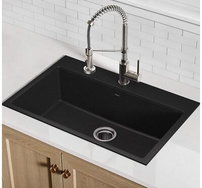 Kraus KGD-412B  Kitchen Sink