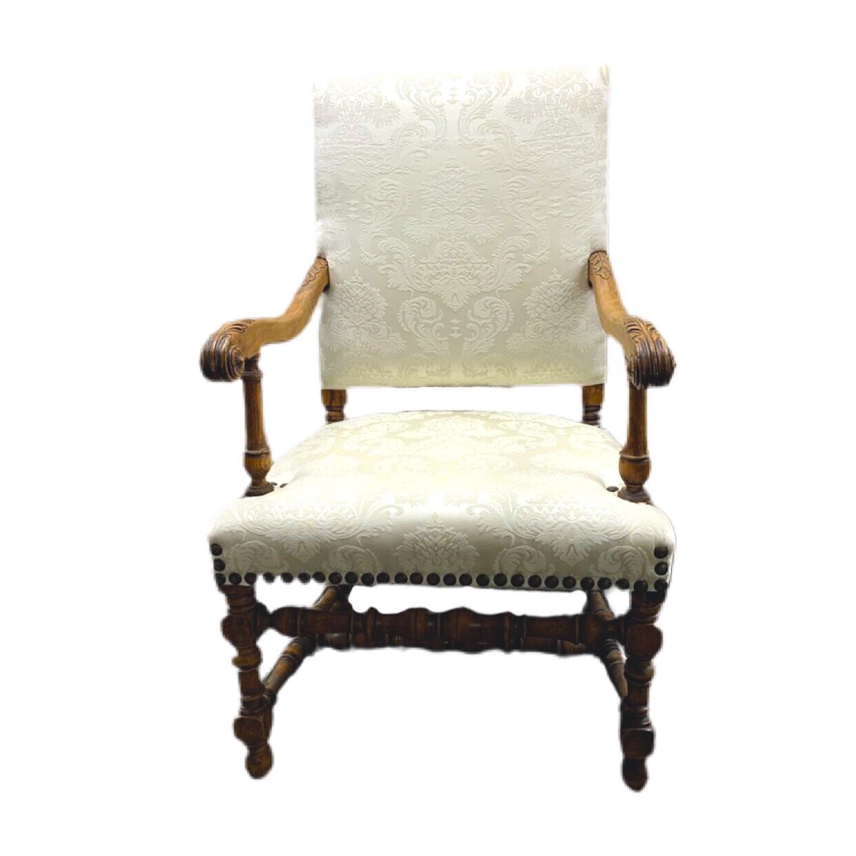 Cream Accent Chair