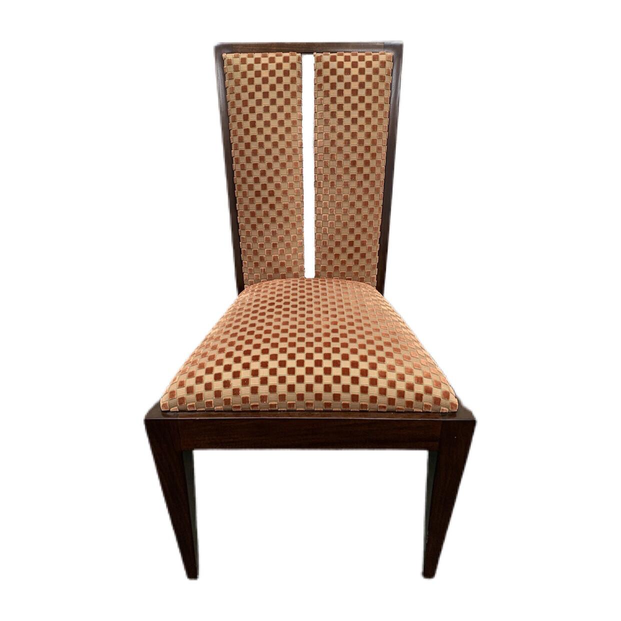 Burnt Orange Dining Chair