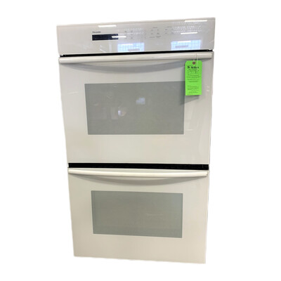 Thermador White Double Oven