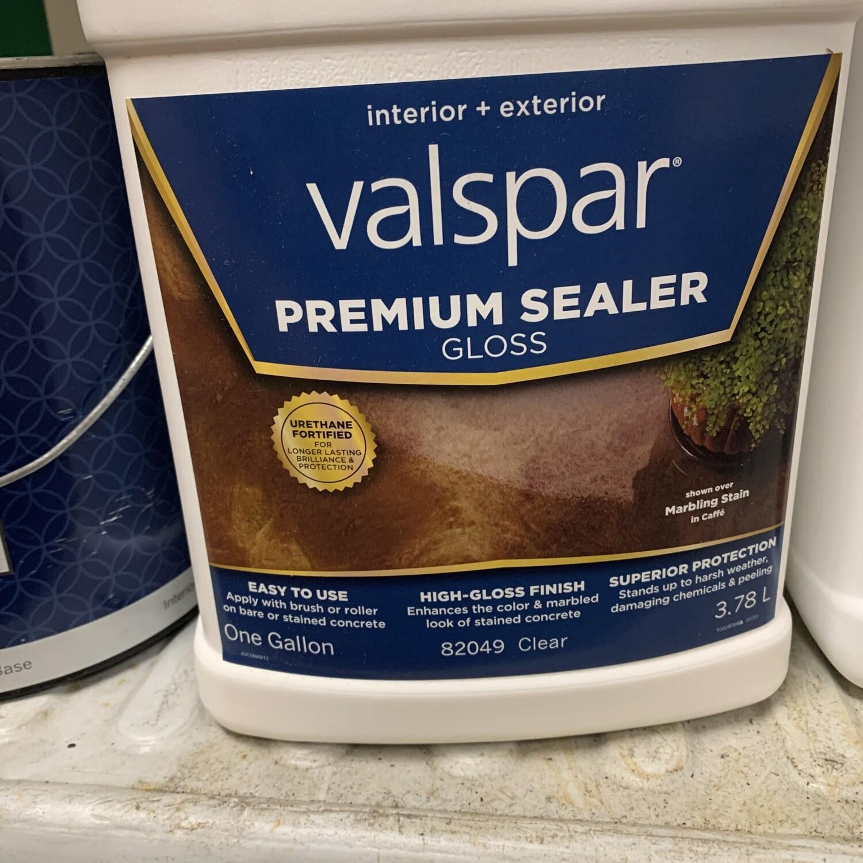 Gallon Valspar Premium Sealer Clear Gloss 82049
