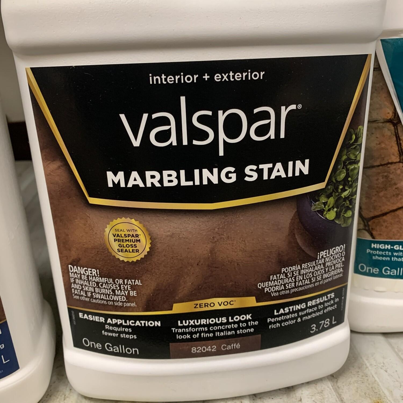 Gallon Valspar Caffe Marbling Stain 82042
