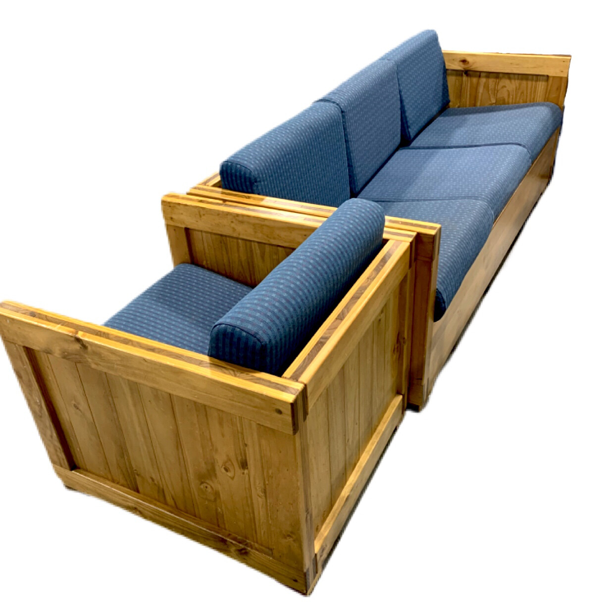 Couch & Armchair Wooden Frame