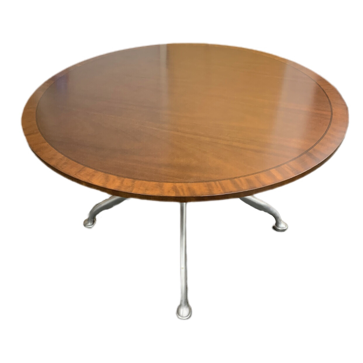 Solid Wood Round Table By Hickory Chair