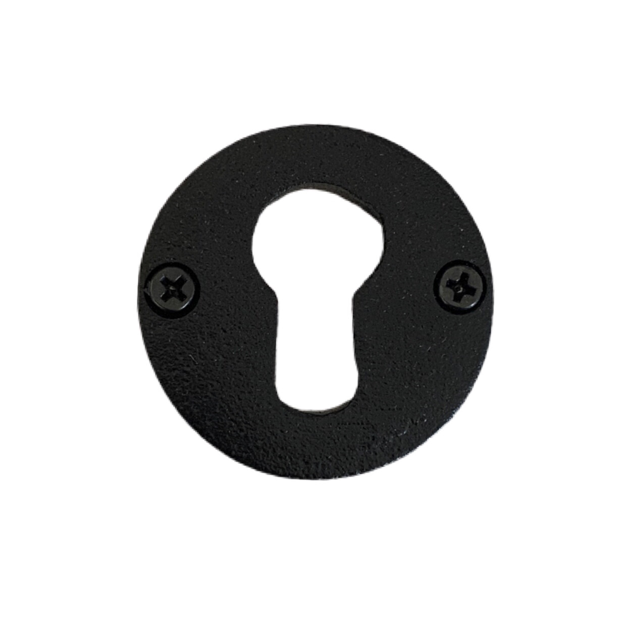 Black Escutcheon Knobs