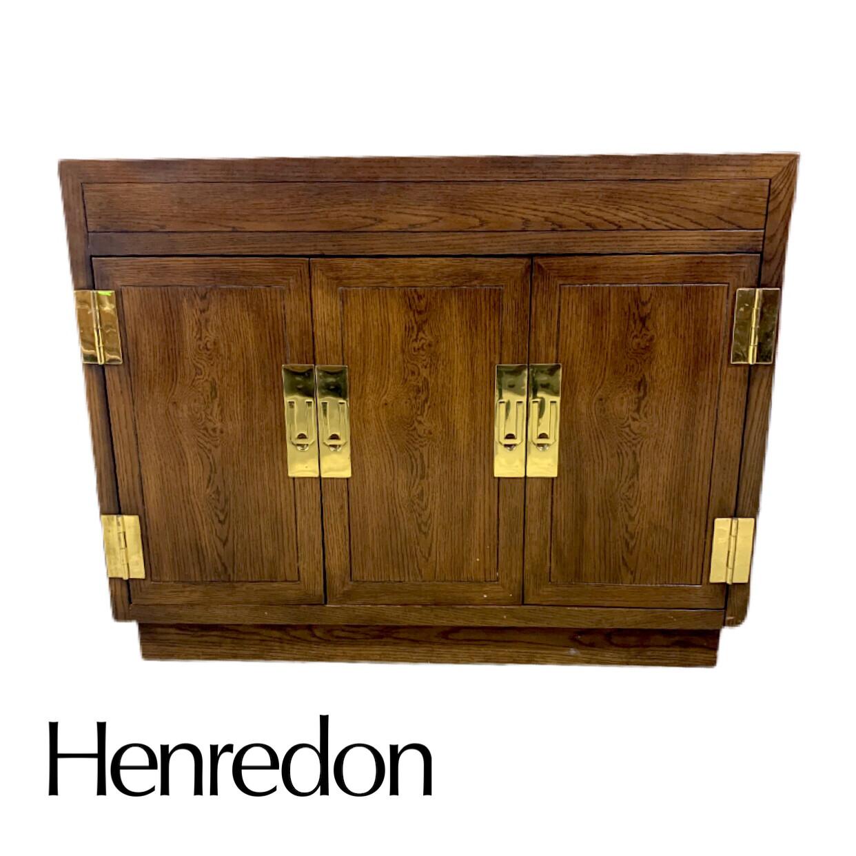 Mid Century Henredon Side Bar