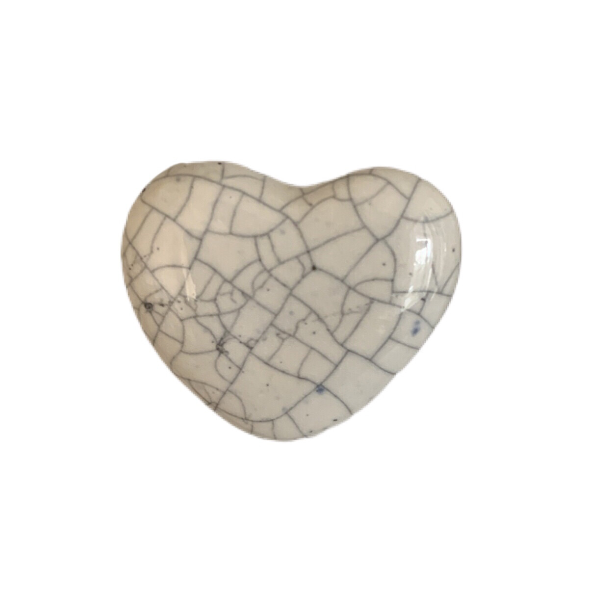 Ceramic Heart Shaped Knobs  17A