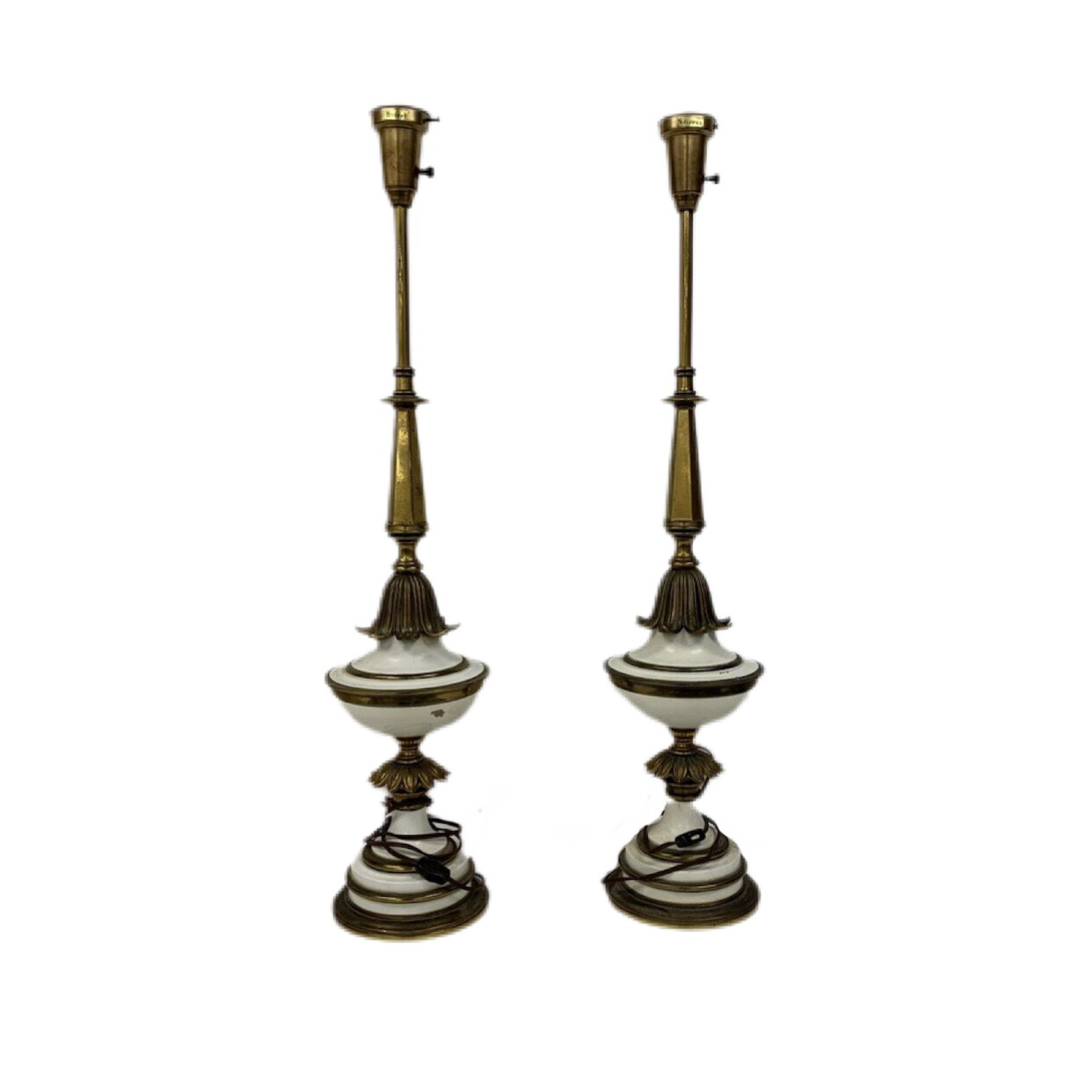 Pair Of Stiffel Table Lamps