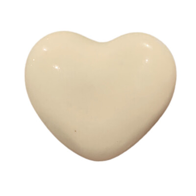 Ceramic Solid Color  Heart Shape  Knob 24A
