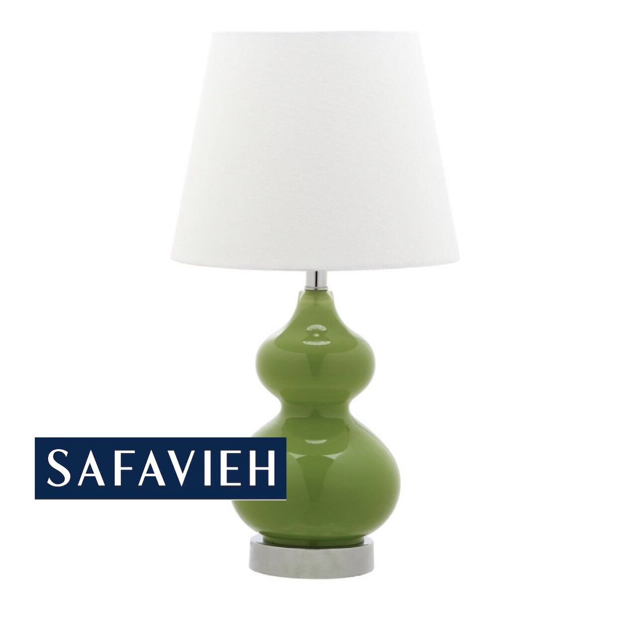 Safavieh Green Table Lamp