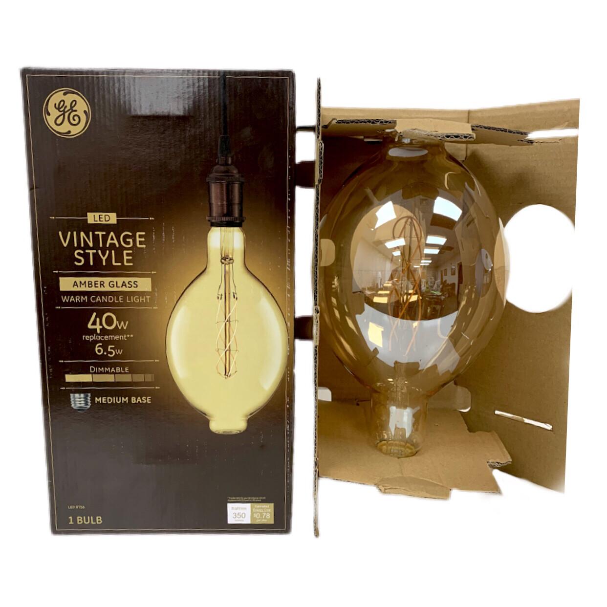 GE Profile Vintage Style LED bulb BT56