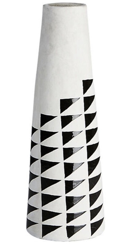 CB2 Marlow Hand Painted Vase