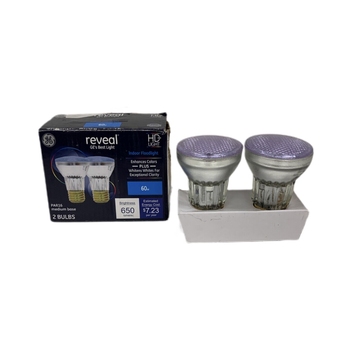 GE Reveal Indoor Floodlight 2 Pack