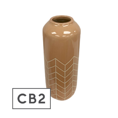CB2 Range Terracotta Vase