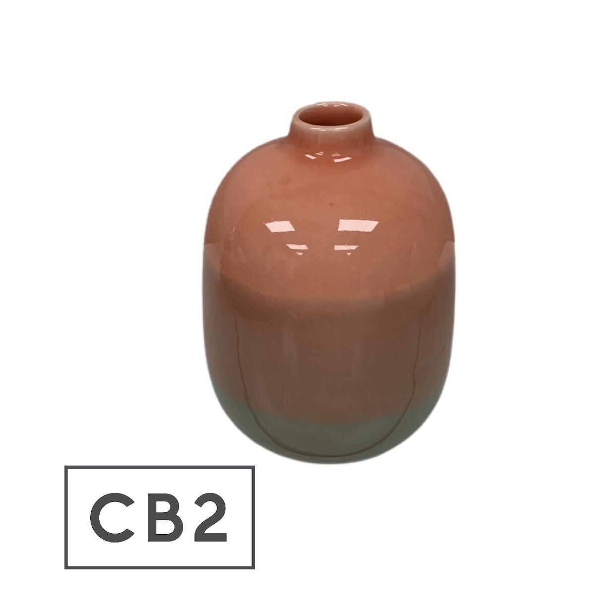 CB2 Dusk Stripe Vase
