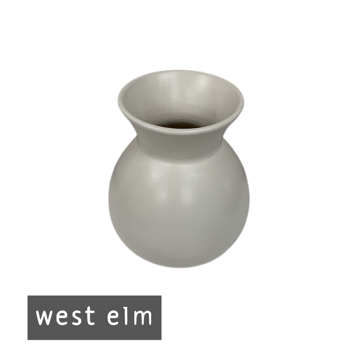 West Elm Ceramic Decorative Vase