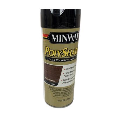 Mini Wax Stain & Polyurethane Satin Mission Oak STEP 1