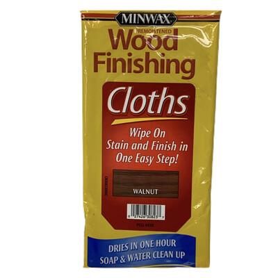 Miniwax Wood Finishing Walnut Cloths