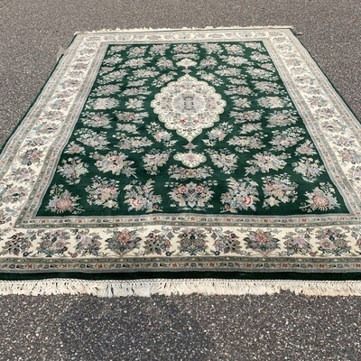 XL Green Area Rug