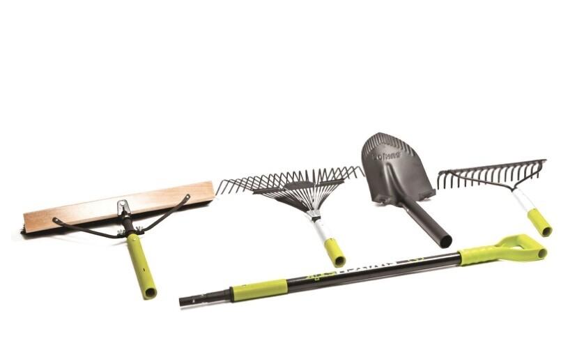 Sunjoe 4 In 1 Switchstik Lawn & Gardening Tool System