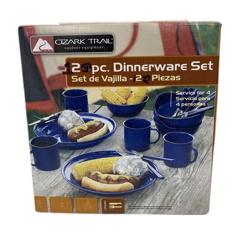 Ozark Trail Outdoor 12 Pc. Dinnerware Set