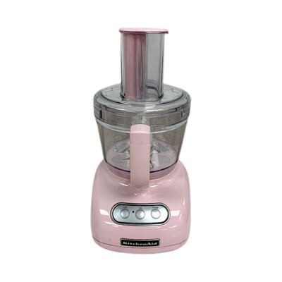 Kitchen Aid Pink Food Processor With Accessory Kit