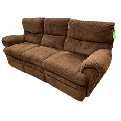3 Seat Recliner Brown Couch