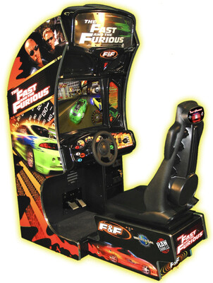 Fast & The Furious Arcade Game