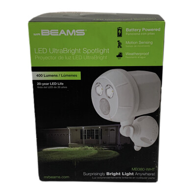 Mr. Beams LED Ultra Bright Spotlight (White)