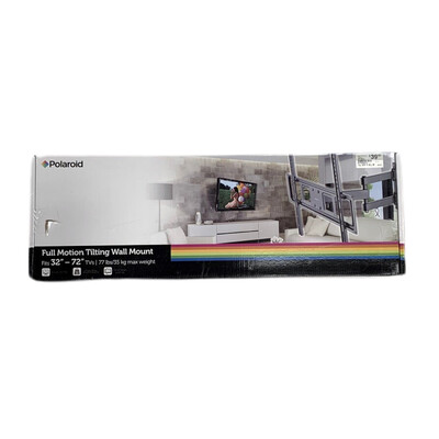 Polaroid Full Motion Tilting Wall Mount