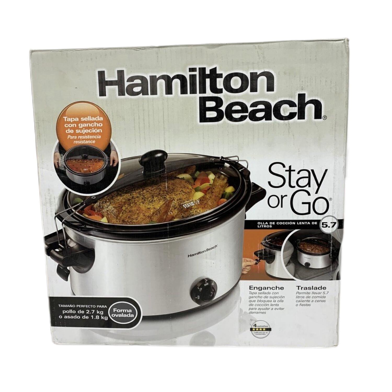 Hamilton Beach 6 Quart Slow Cooker